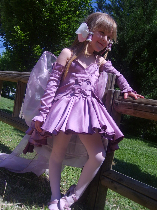 social llamada chica disfraz