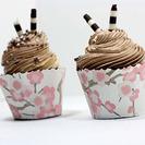 Cómo hacer envoltorios para cupcakes caseros. Manualidad para hacer con niños
