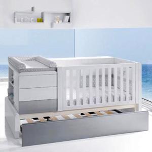 Cunas convertibles para bebé Alondra.