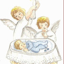Recordatorios para Bautizos de Loreto Ceballos