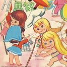 Muñecas recortables para niñas.