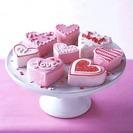 Receta de Bizcocho para San Valentín