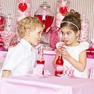 Fiesta de San Valentín para niños.