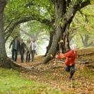 Paseo con niños. Parque de Enrique Tierno Galván
