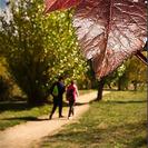 Parque para ir con niños y cochecitos de bebé. Parque de Polvoranca en Leganés
