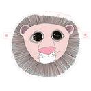 Máscaras de carnaval para niños. Caretas para imprimir