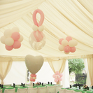 Decoraciones con globos para Comuniones en Madrid. Decoglobe