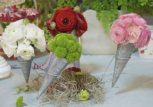 Flores y tocados para comuniones de VerdePimienta