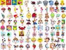 Etiquetas para marcar ropa de niños