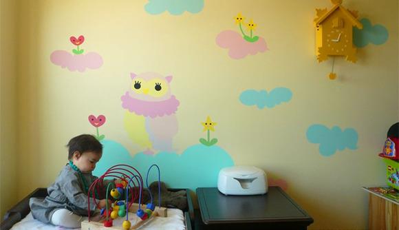 Vinilos decorativos para dormitorios infantiles.