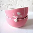 Bowl de etsy.com para felicitar el Día de la Madre.