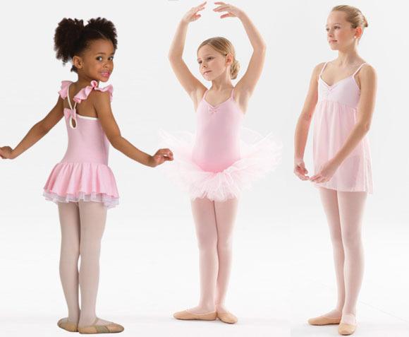 Tutus y maillots de ballet para niñas