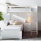 Literas y camas nido de Takata. Dormitorio para dos