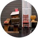 Dormitorios Infantiles en Serendipity... Pupitres, mesas de estudio, sillas para los cuartos de los niños