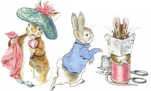 Dibujos de Beatriz Potter