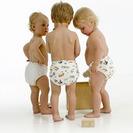 Pañales ecológicos todo en uno para niños
