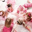 Fiesta de pijamas para niñas