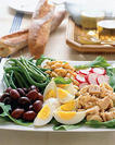 Receta Ensalada con Atún y Huevo