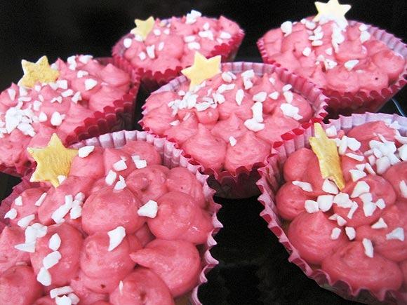 Receta de Cupcakes rellenas de Mermelada