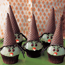 Cupcakes de Bruja para Halloween