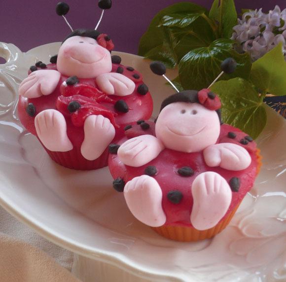 Fondant Para Cupcakes De Nubes