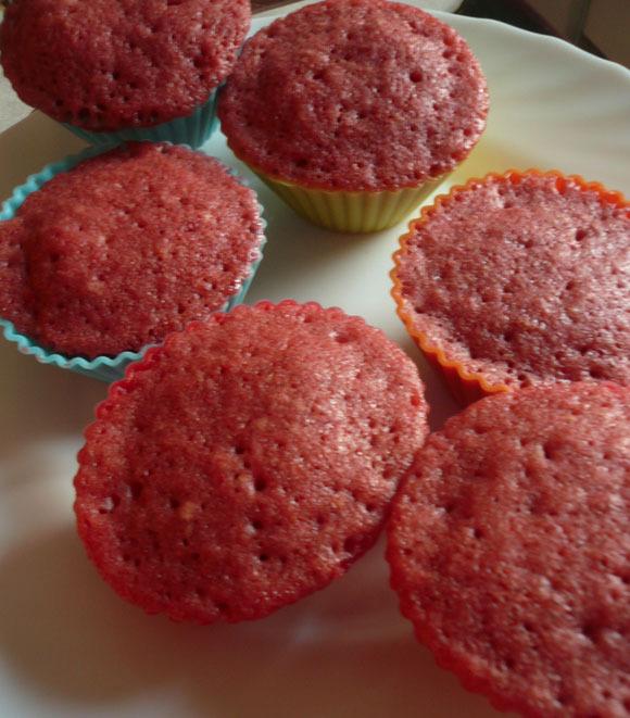 Receta paso a paso de las Red Velvet Cupcakes