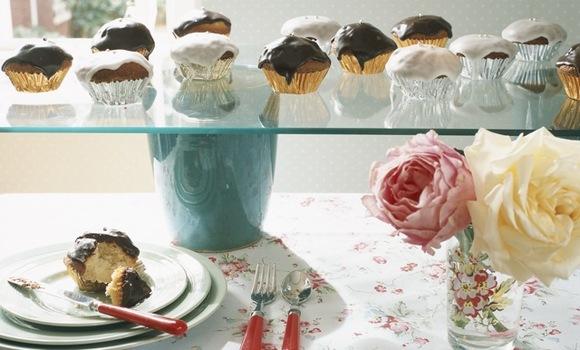 ¿Qué es un cupcake?  Son pastelillos esponjosos para comer de un bocado!