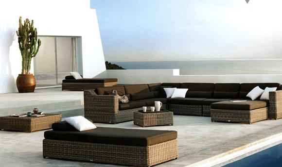 Muebles de piscina modernistas y duraderos en Teklassic