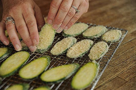 Recetas con calabacines.  Aperitivos originales para una cena.