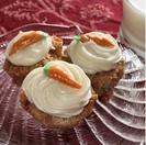 Receta de cupcakes de Zanahoria. Carrot Cupcakes.