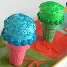 Cupcakes originales:  Micrófonos para niños