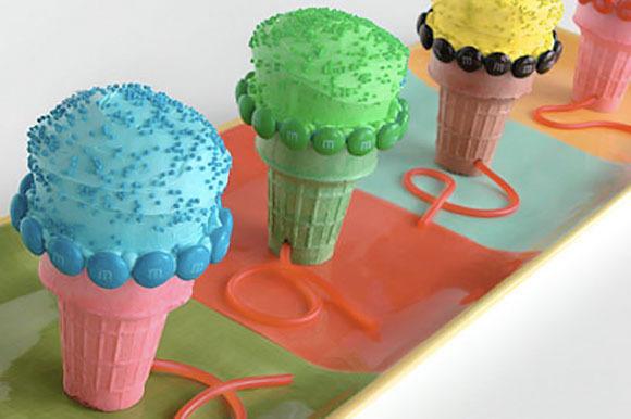 Receta de cupcakes originales.  Micrófonos.  Menú de fiesta de cumpleaños.
