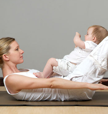 Pilates para embarazadas y post parto con tu beb