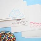 Invitaciones para cumpleaños muy dulces en Paper Pastries