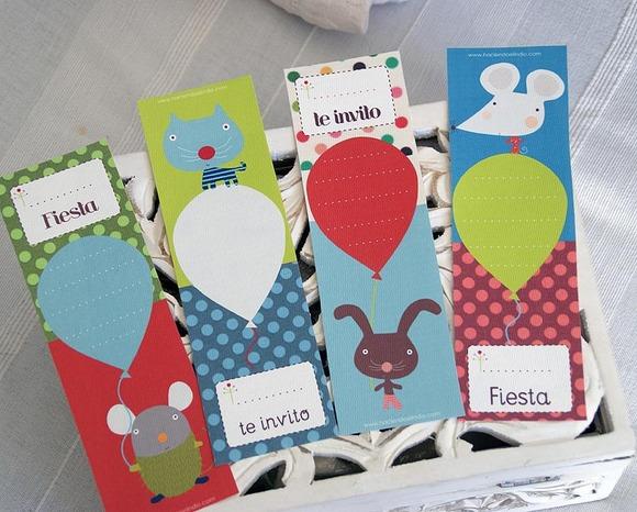 Invitaciones y tarjetas de cumpleaños para imprimir