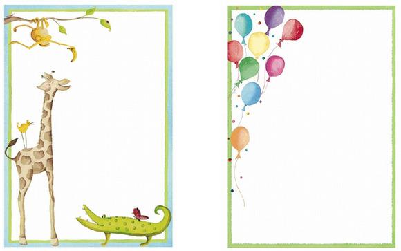Preciosas invitaciones de cumpleaños de Chocolat Show