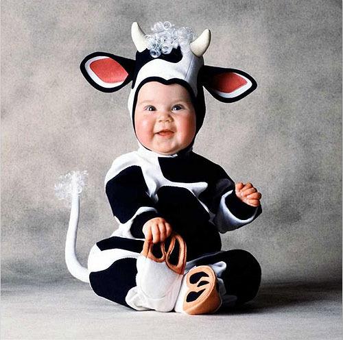 Disfraces para bebés originales de Tom Arma. Los más pequeños
