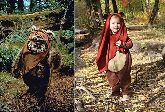 Cómo convertirse en un ewok de Star Wars