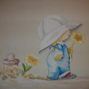 murales pintados en habitaciones infantiles