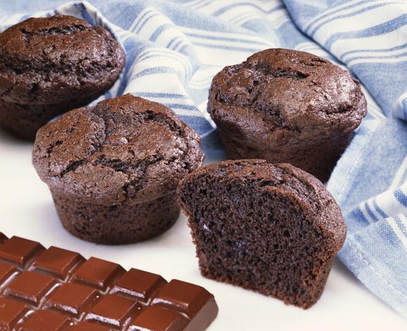 Receta de cupcakes de chocolate. Una receta fácil para hacer con niños.