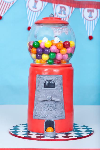 Maquina de caramelos vintage