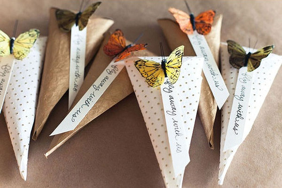 DIY Butterfly Party Favor Bags