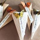 Conos de papel: detalles originales para fiestas de cumpleaños