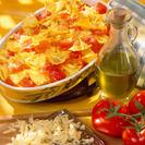 Comida diabéticos:  Pasta con salsa de tomate y carne
