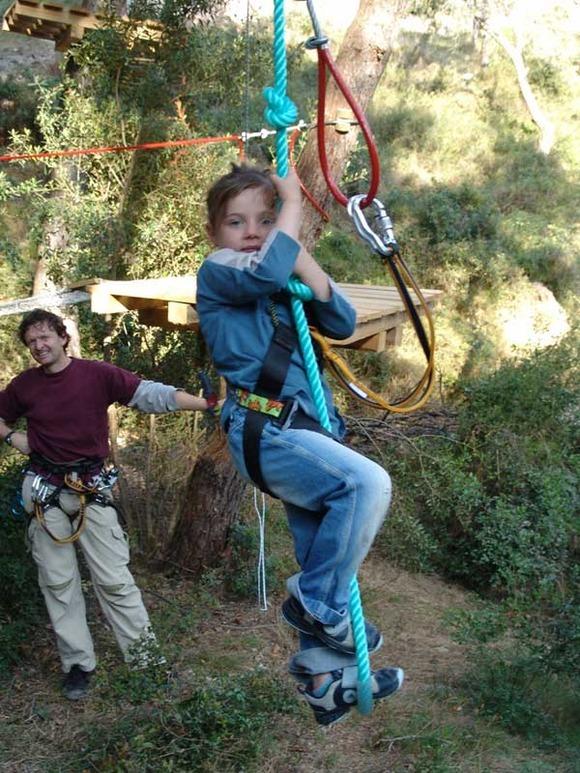 Parque de aventuras en España