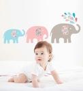Adhesivos y pegatinas reutilizables para decoración infantil en Chic Children