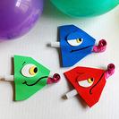 Originales matasuegras para fiestas infantiles