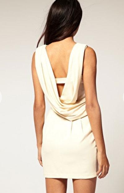 Este vestido de Asos es una monada en beige y cuesta 50€