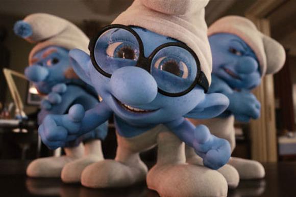 Los Pitufos, la película en 3D