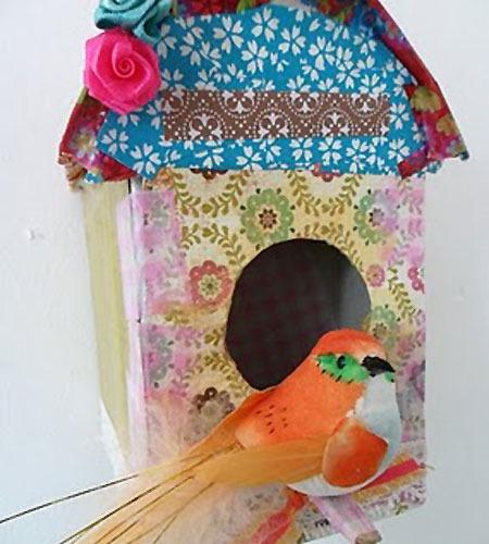 Casitas para pájaros para decorar la habitación infantil